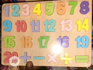 Numbers Learning Board   Toys for sale in Lagos State, Amuwo-Odofin