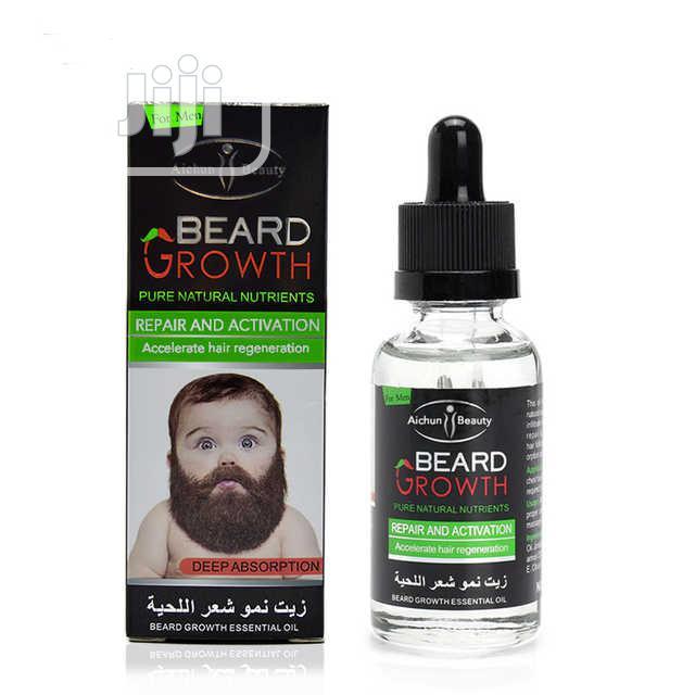 Hair And Beard Growth Oil