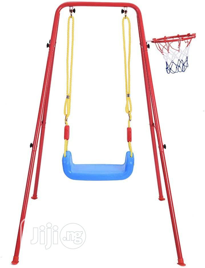 Swing And Basketball | Toys for sale in Wuse 2, Abuja (FCT) State, Nigeria