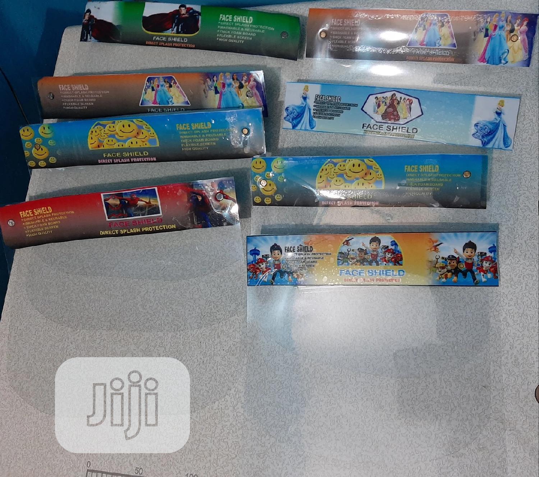 Children/ Kiddies Face Shield   Safety Equipment for sale in Ojodu, Lagos State, Nigeria