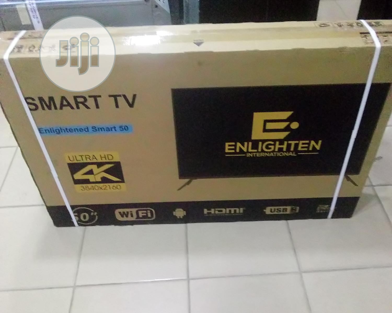 Enlighten Smart TV Ultra HD 4K 50inchs