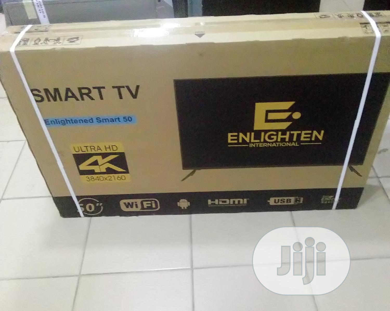 Enlighten Smart TV Ultra HD 4K 50inchs | TV & DVD Equipment for sale in Wuye, Abuja (FCT) State, Nigeria
