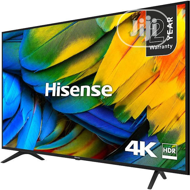 "Hisense 50"" 4K UHD Smart TV With Free Bracket 50b7100w"
