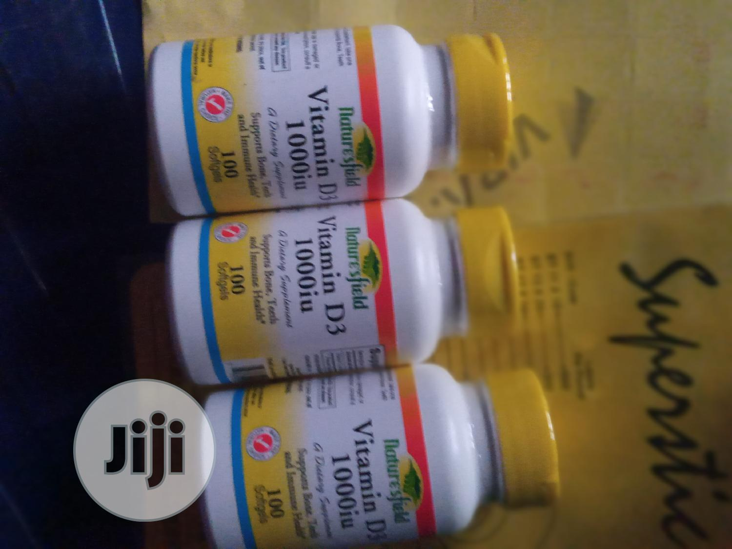 Vitamin D3 1000iu By 100 | Vitamins & Supplements for sale in Ibadan, Oyo State, Nigeria