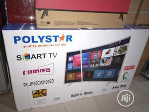 Polystar LED Smart 65inche Curve   TV & DVD Equipment for sale in Lagos State, Lekki