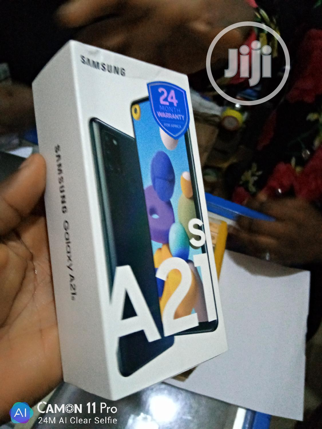 New Samsung Galaxy A21s 64 GB   Mobile Phones for sale in Ikeja, Lagos State, Nigeria