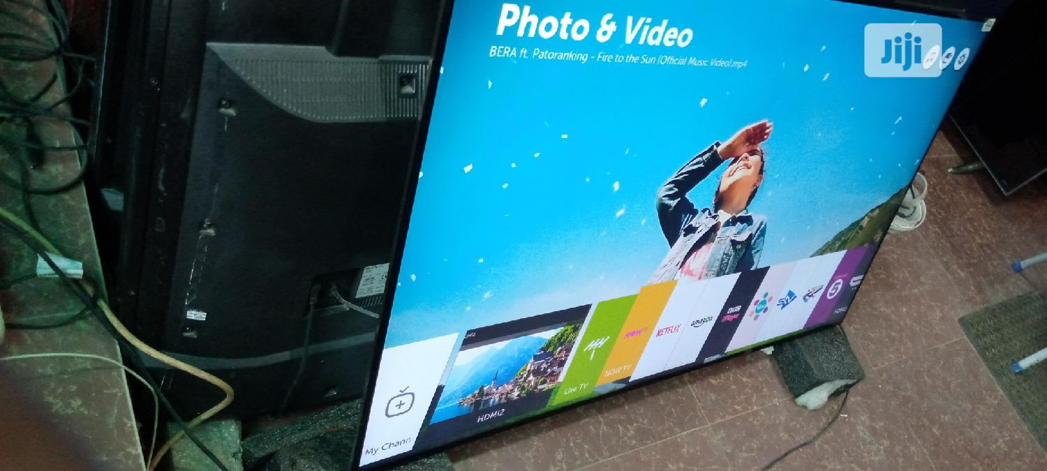"""55"""" LG Super Uhd Webos 4k Tv With Dolby Vision Display.   TV & DVD Equipment for sale in Ojo, Lagos State, Nigeria"""