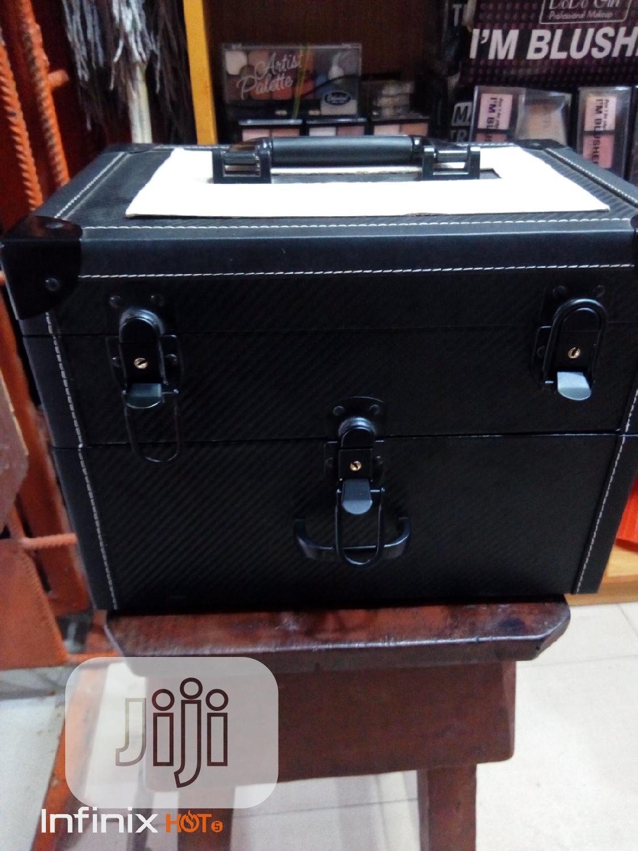 Portable Makeup Box Black