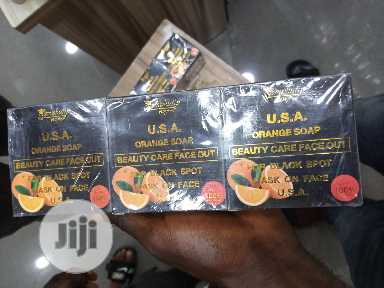 U.S.A Papaya Soap For Black Spot. | Bath & Body for sale in Amuwo-Odofin, Lagos State, Nigeria