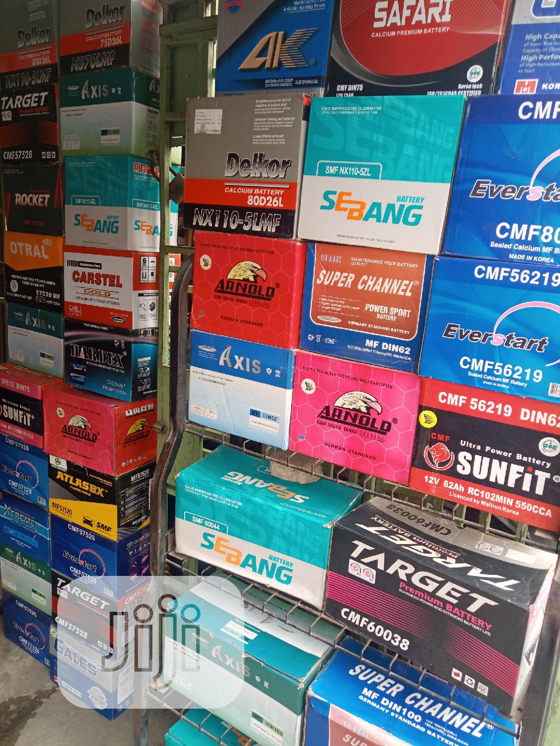 Original Batteries | Vehicle Parts & Accessories for sale in Surulere, Lagos State, Nigeria