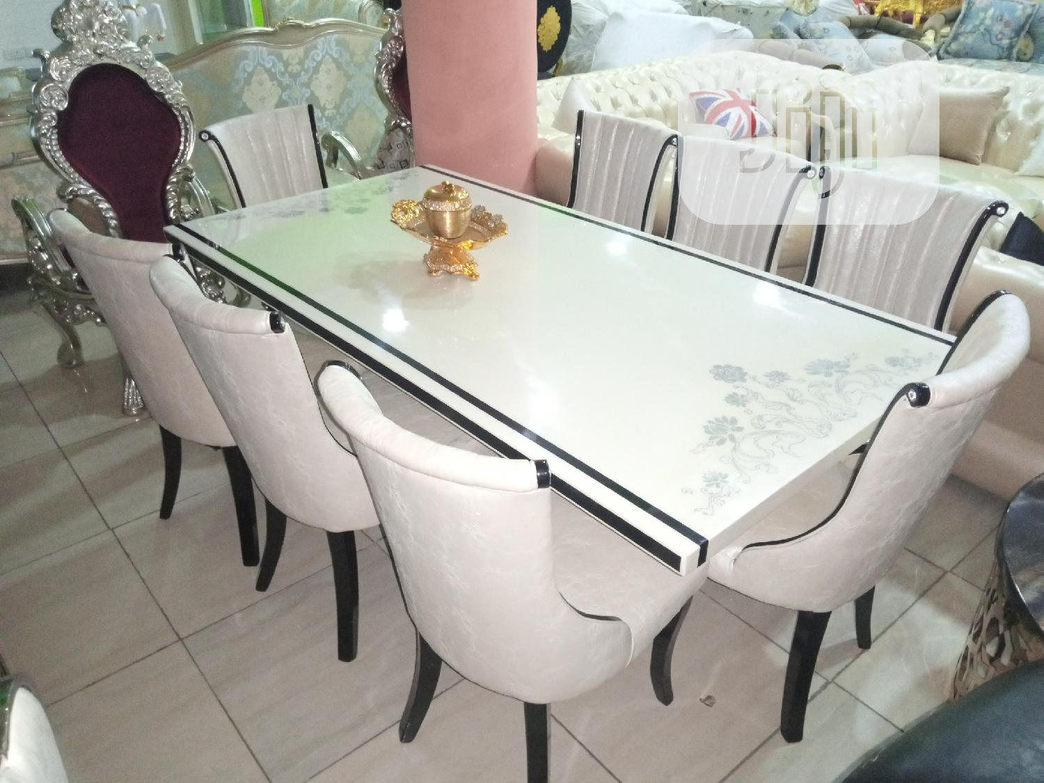 Marble Dining Table 8 Seater In Ajah Furniture Roland Furniture And Interior Jiji Ng