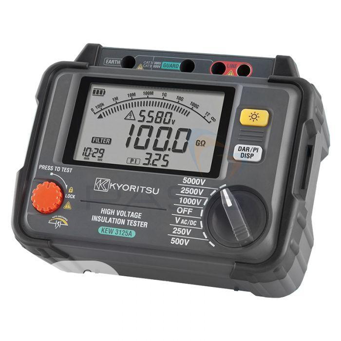 KYORITSU High Voltage Insulation Tester 5KV KEW 3125A