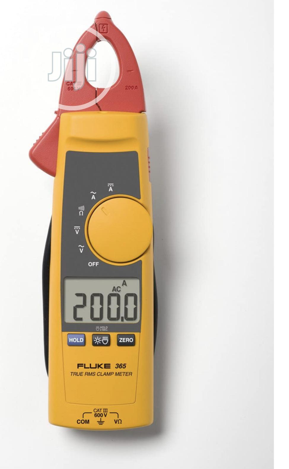 Fluke 365 Detachable Jaw True-rms AC/DC Clamp Meter | Measuring & Layout Tools for sale in Ojo, Lagos State, Nigeria