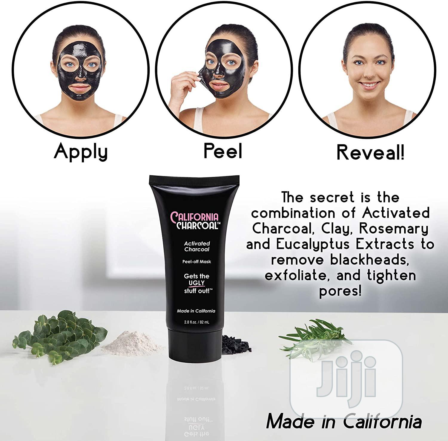 Black Off Activated Charcoal Mask | Skin Care for sale in Lagos Island (Eko), Lagos State, Nigeria