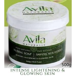 Avila Intense Lightening Organic/Black Soap 500g | Bath & Body for sale in Lagos State, Ikotun/Igando