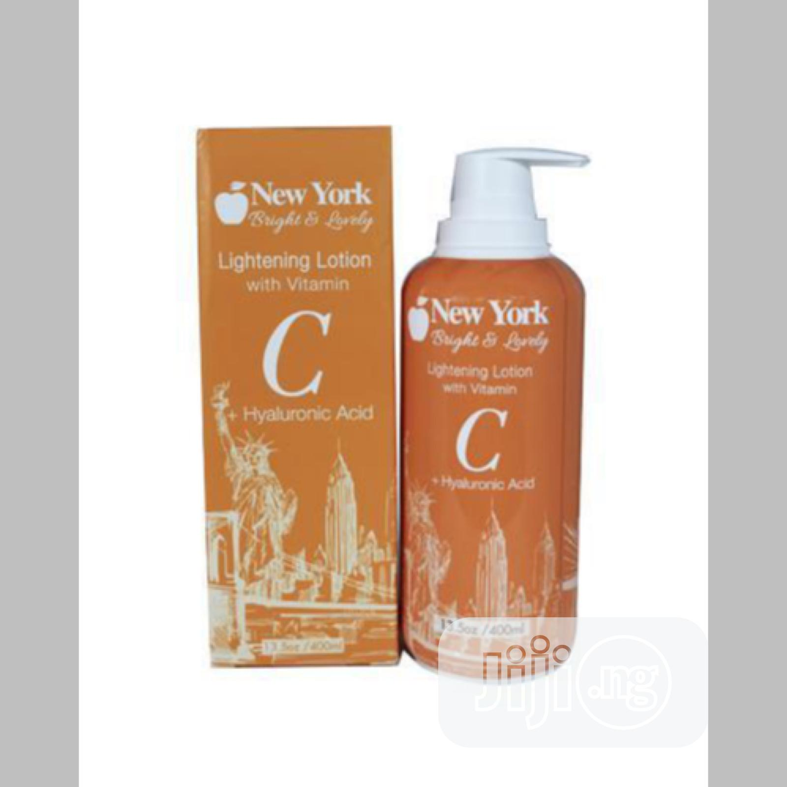 Archive: New York Bright and Lovely Lightening Lotion
