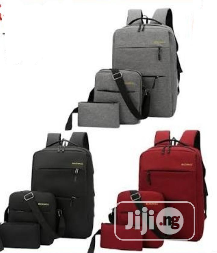 3 in 1unisex USB Laptop Bag | Bags for sale in Oshodi, Lagos State, Nigeria