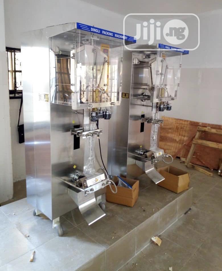 Sachet Water Pure Water Sachet Water Machine