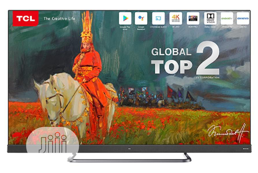 TCL 55 Inch LED Android, Smart 4K Television-55c8