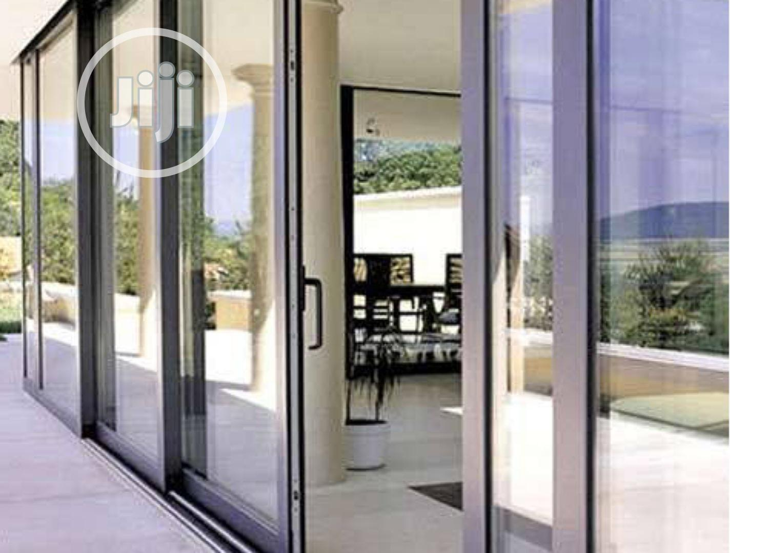 We Sale And Install Modern Aluminum Doors And Windows | Building & Trades Services for sale in Ikoyi, Lagos State, Nigeria