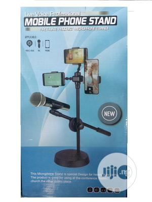 Selfie Ring Light With Cell Phone Holder Andmicrophone Stand | Accessories for Mobile Phones & Tablets for sale in Lagos State, Ikeja