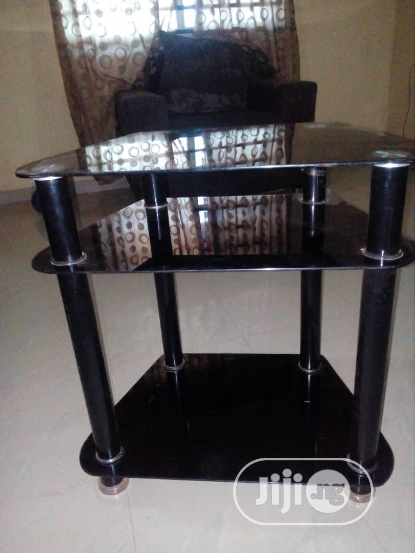 Archive: Neatly Used Glass TV Stand