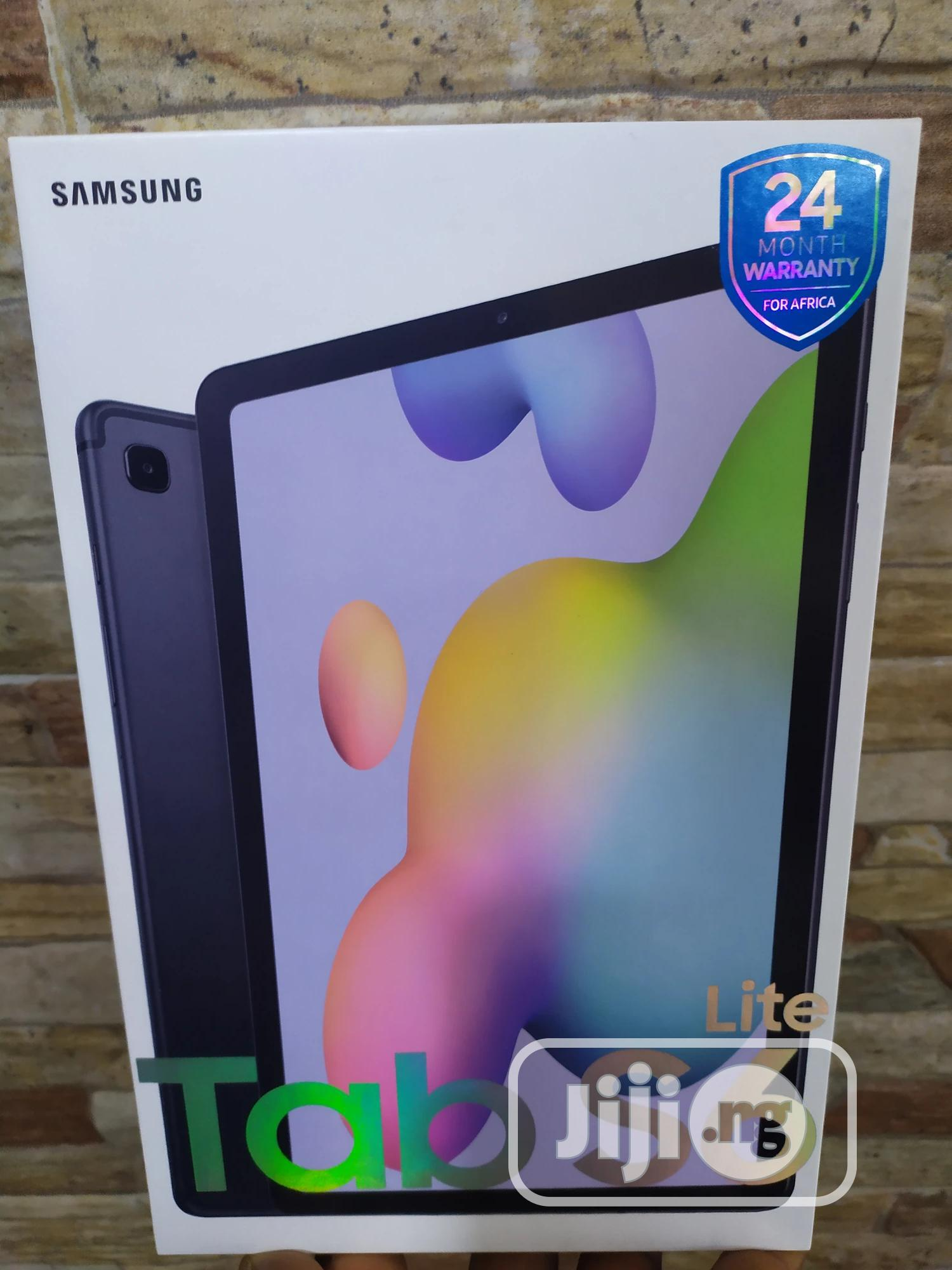 New Samsung Galaxy Tab S6 Lite 64 GB Blue | Tablets for sale in Victoria Island, Lagos State, Nigeria