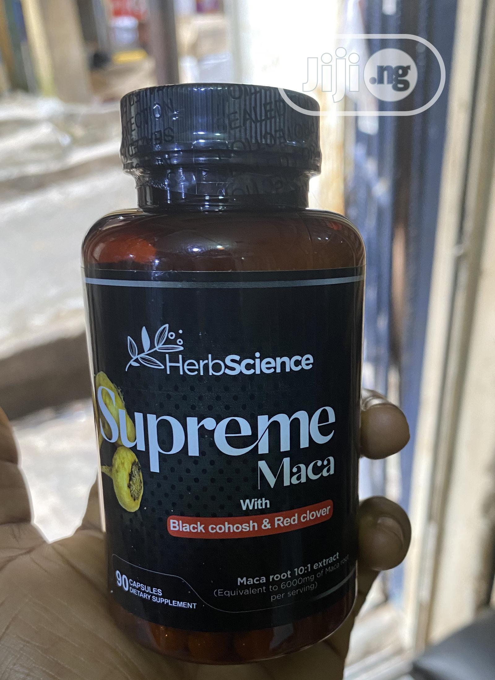 Supreme Macca Supplement