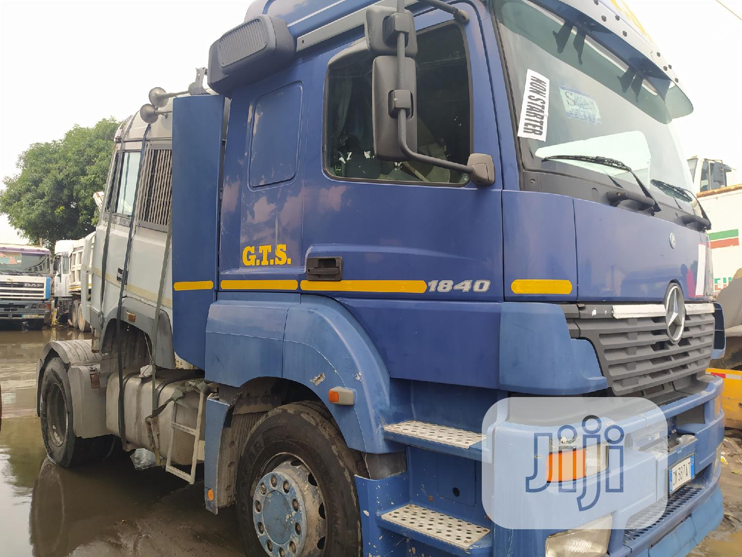 Newly Arrived Tokunbo Mercedes AXOR 1840 Tractor Unit. | Heavy Equipment for sale in Apapa, Lagos State, Nigeria