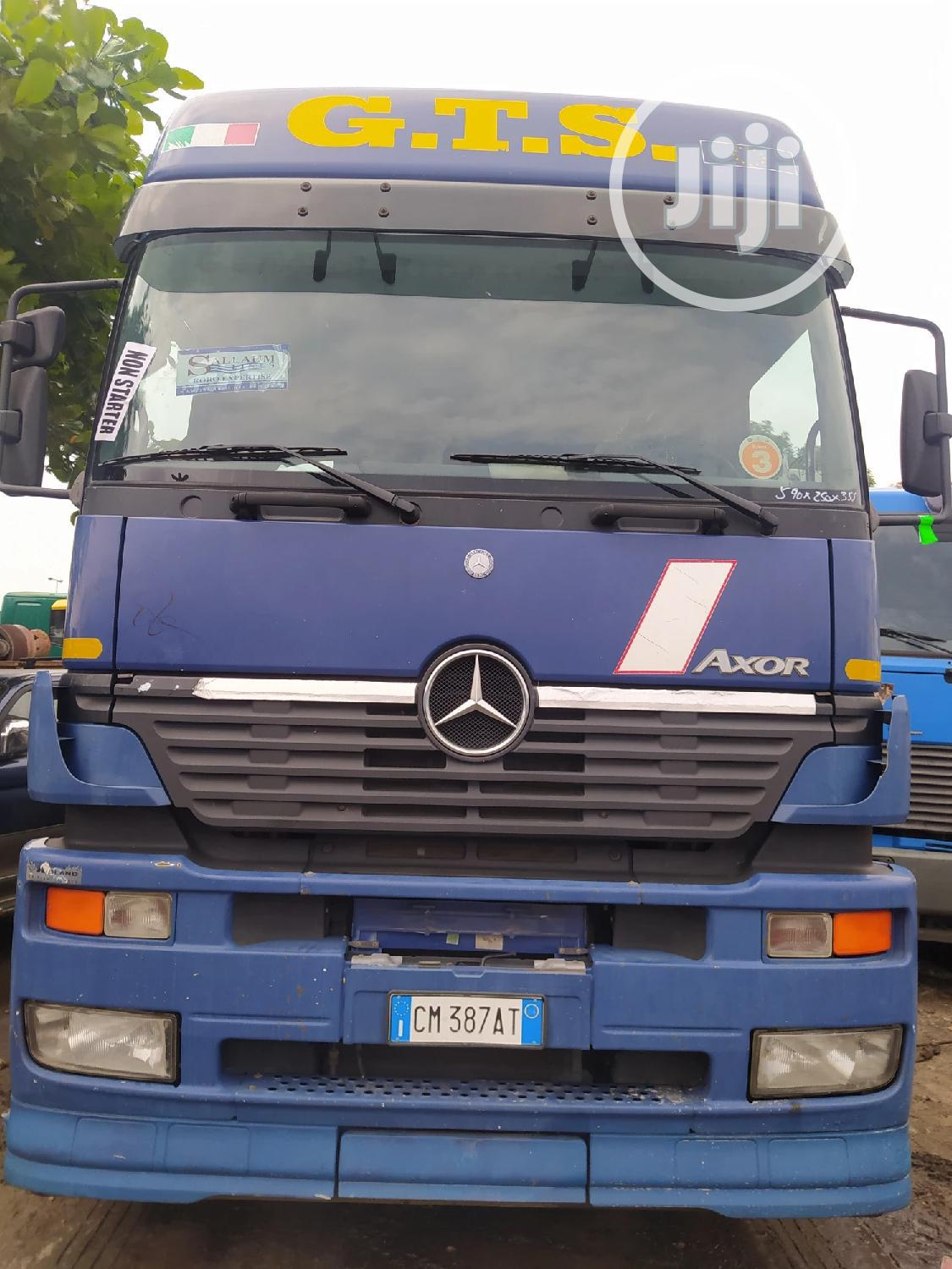 Newly Arrived Tokunbo Mercedes AXOR 1840 Tractor Unit.