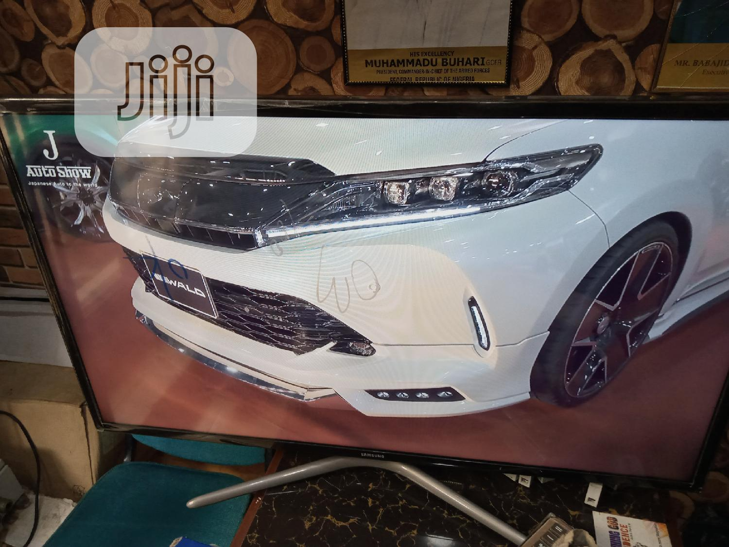 UK Fairly Used 40 Inches Smart Samsung Tv With Screen Mirro   TV & DVD Equipment for sale in Ojodu, Lagos State, Nigeria