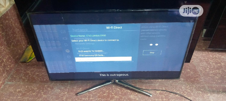 "48"" Samsumg Flat Smart 4k Uhd Tv   TV & DVD Equipment for sale in Ojo, Lagos State, Nigeria"