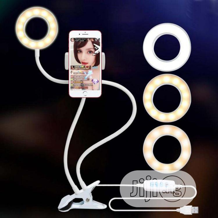 Archive: Selfie Ring Light and Phone Holder