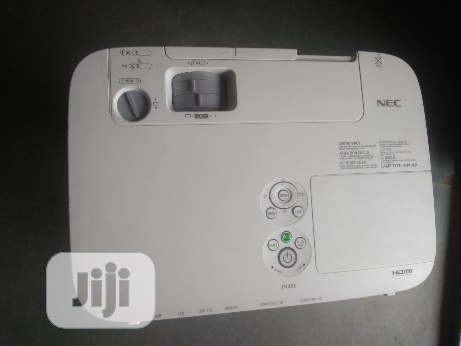 Archive: NEC P420X Projector 4,200 Lumens