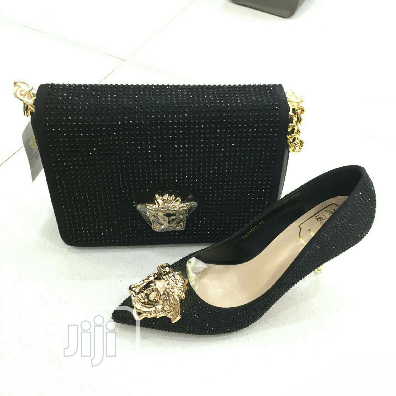 Versace Trendy Shoe Bag