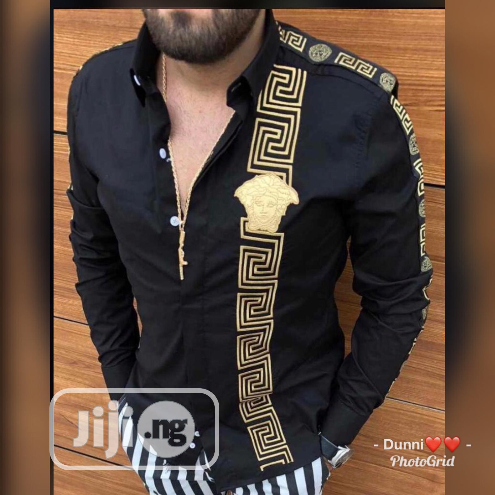 Designer Men'S Shirt   Clothing for sale in Lagos Island (Eko), Lagos State, Nigeria