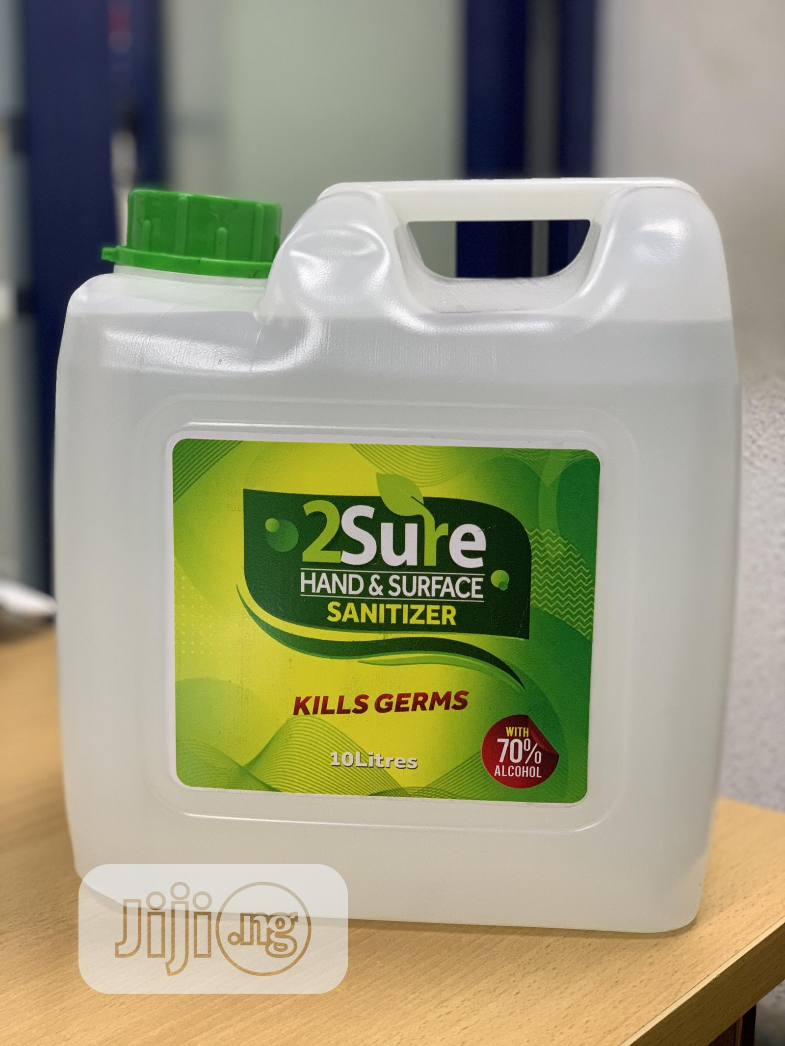2sure Hand and Surface Sanitizer 10litre