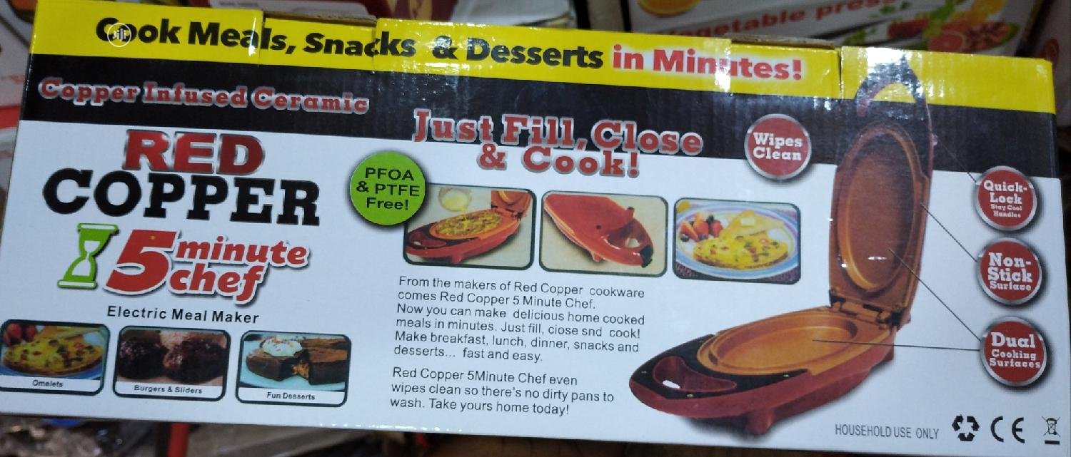 Archive Red Copper 5 Minutes Chef Electric Meal Maker In Lagos Island Eko Kitchen Appliances Obiking Investment Jiji Ng