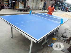 Durable Outdoor Table Tennis Board   Sports Equipment for sale in Rivers State, Port-Harcourt
