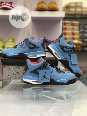 Travis Scott X Air Jordan 4 Retro Cactus Jack Sneakers | Shoes for sale in Lagos State, Surulere