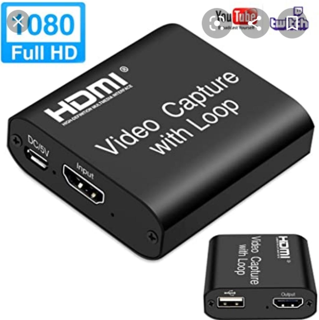 Video Capture Card With HDMI Loop Out 4k   Accessories & Supplies for Electronics for sale in Ojo, Lagos State, Nigeria