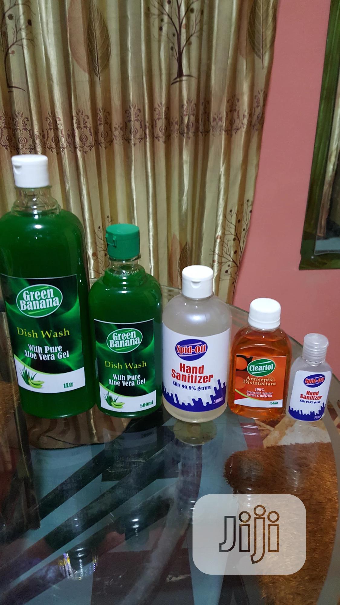 Archive: Green Banana Dish Washing Liqiud and Hand Sanitizer
