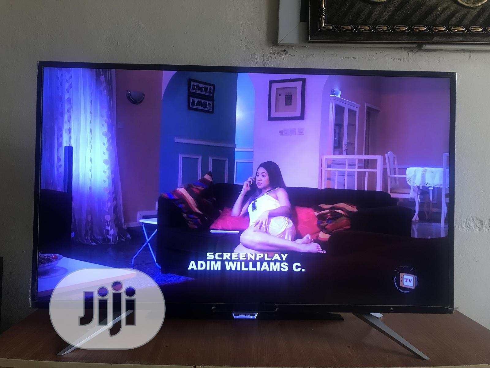 Philips 43 Inch 4K UHD Smart TV | TV & DVD Equipment for sale in Apo District, Abuja (FCT) State, Nigeria