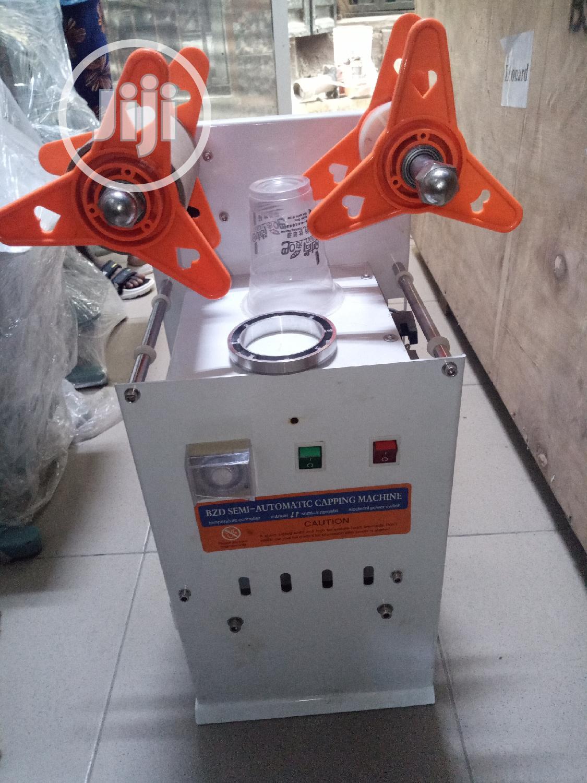 Semi-auto Cup Sealer