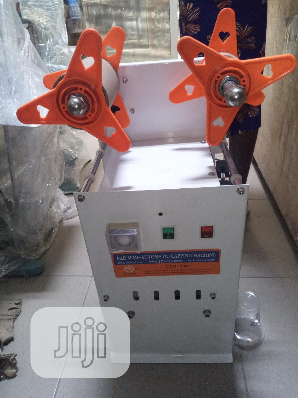 Semi-auto Cup Sealer | Manufacturing Equipment for sale in Ojo, Lagos State, Nigeria
