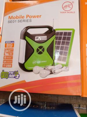 Original Portable SOLAR Kit-Panel, Bulbs, Wires N Control.   Garden for sale in Abuja (FCT) State, Kubwa