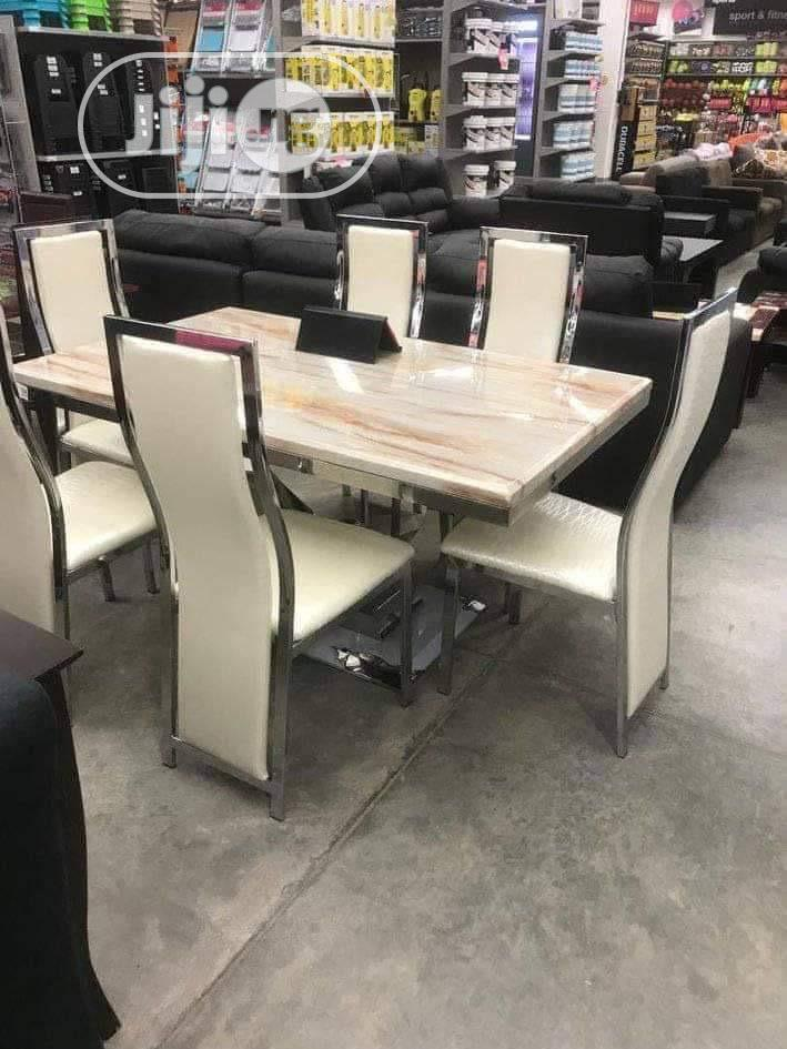 Mable Dining by 6 Chairs