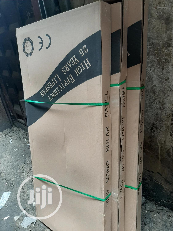 12V 160W Mono Solar Panels   Solar Energy for sale in Ojo, Lagos State, Nigeria