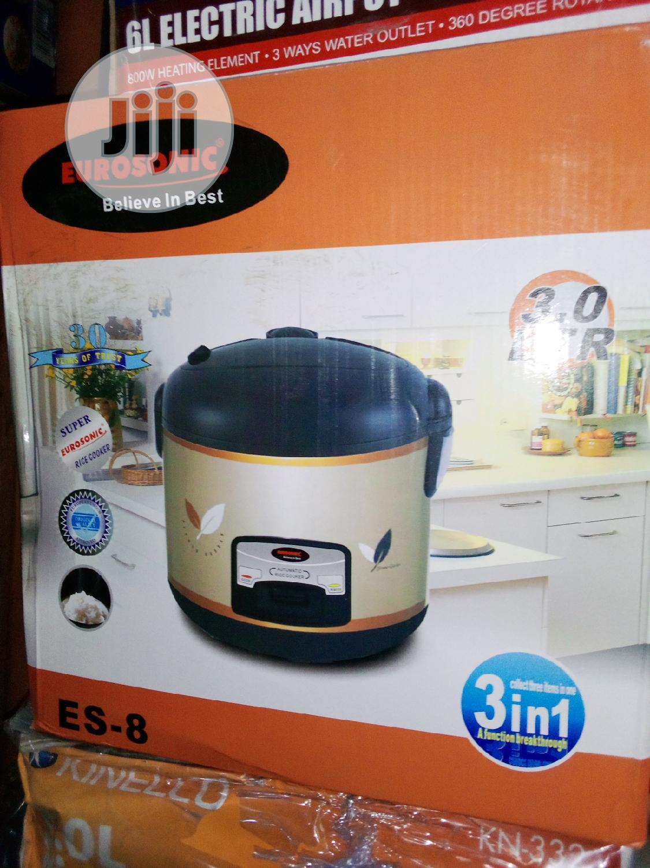 Eurosonic Rice Cooker 3.0l   Kitchen Appliances for sale in Lagos Island (Eko), Lagos State, Nigeria