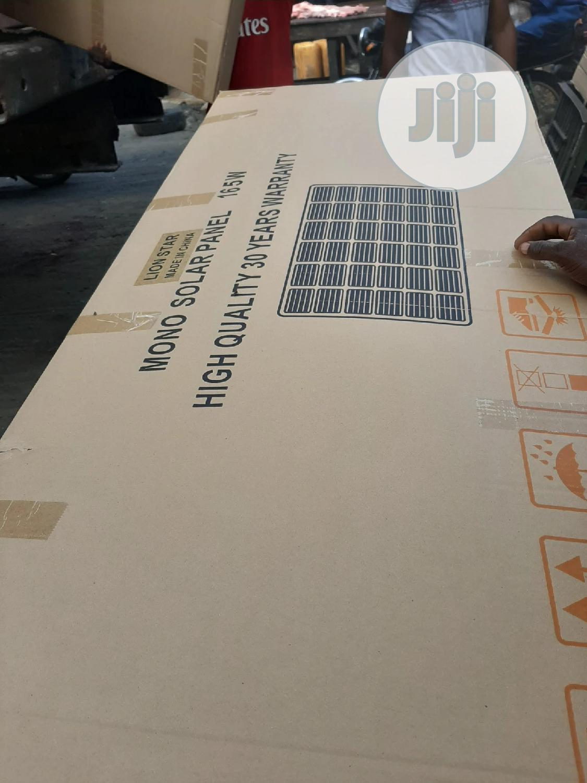 12V 165W Lion Star Solar Panels